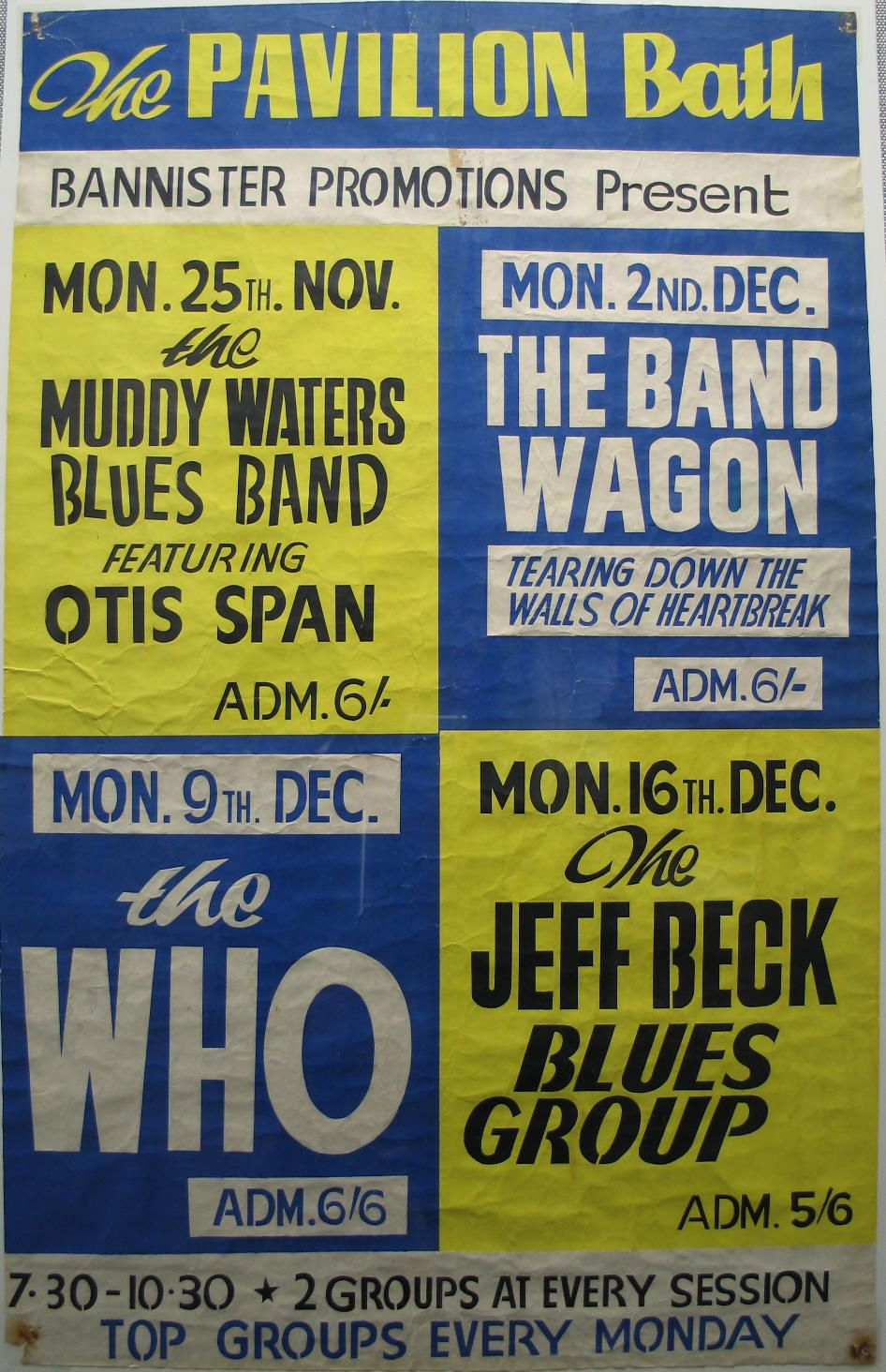 1970s Music Posters