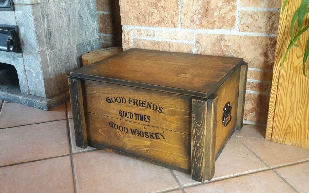 Mini Bar Whiskey Frachtkiste shabby vintage Schrank Whisky ...