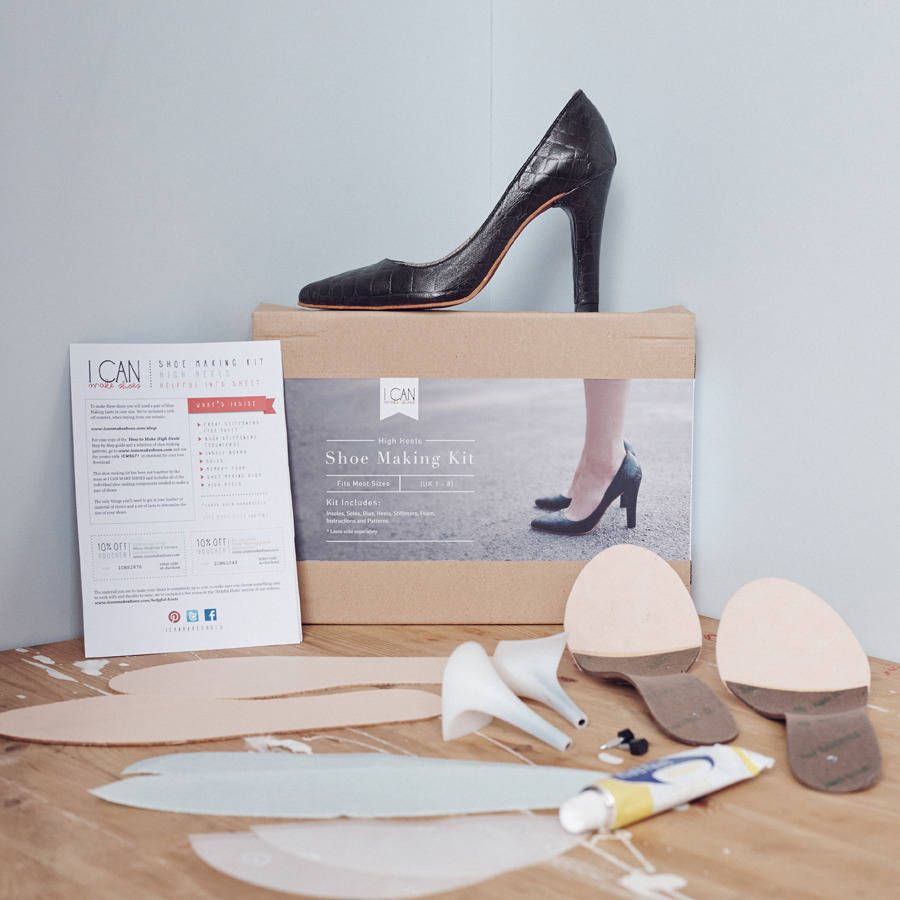 Shoe Making Kit High Heels How to make shoes, Diy shoes