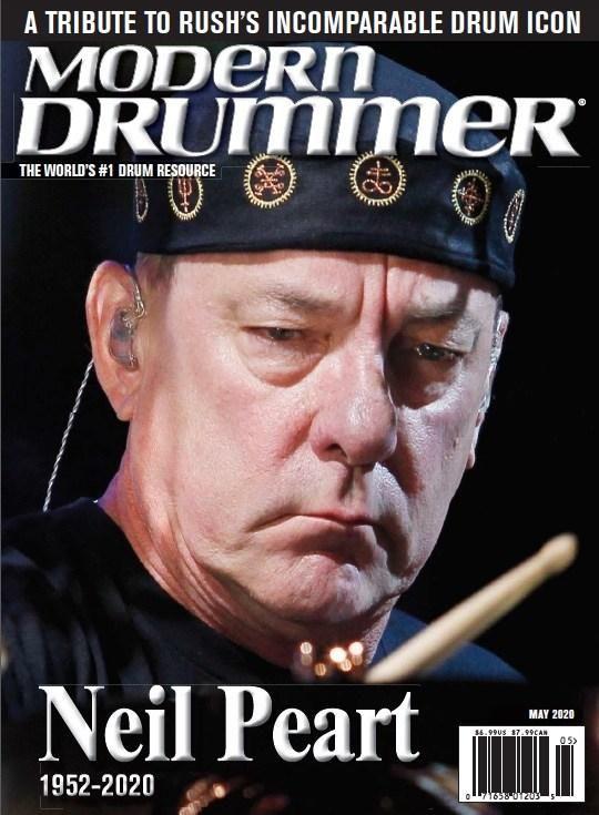 Modern Drummer Magazine Subscription In 2020 Modern Drummer Drummer Neil Peart