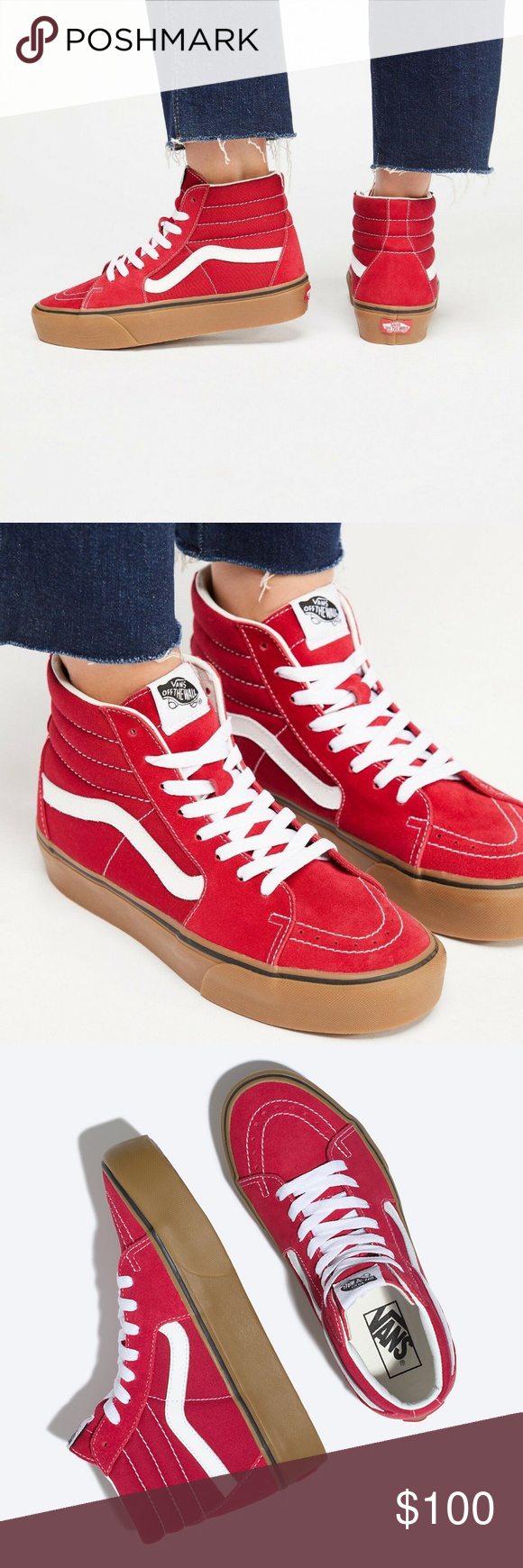 d44bcf6c Vans SK8-HI PLATFORM 2 Shoes NEW AUTHENTIC Vans SK8-HI PLATFORM 2 ...