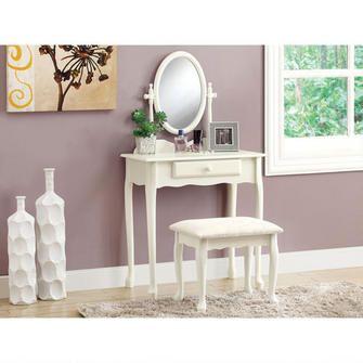 Vanity Set - Antique White $206.00