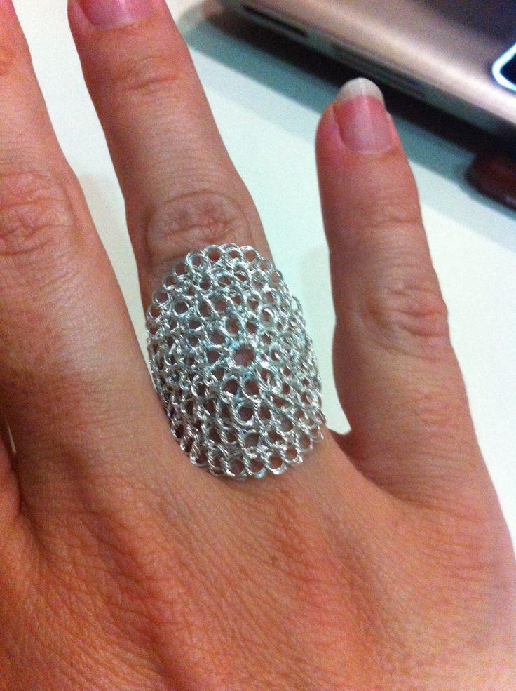 Risultati immagini per anillo tubular crochet