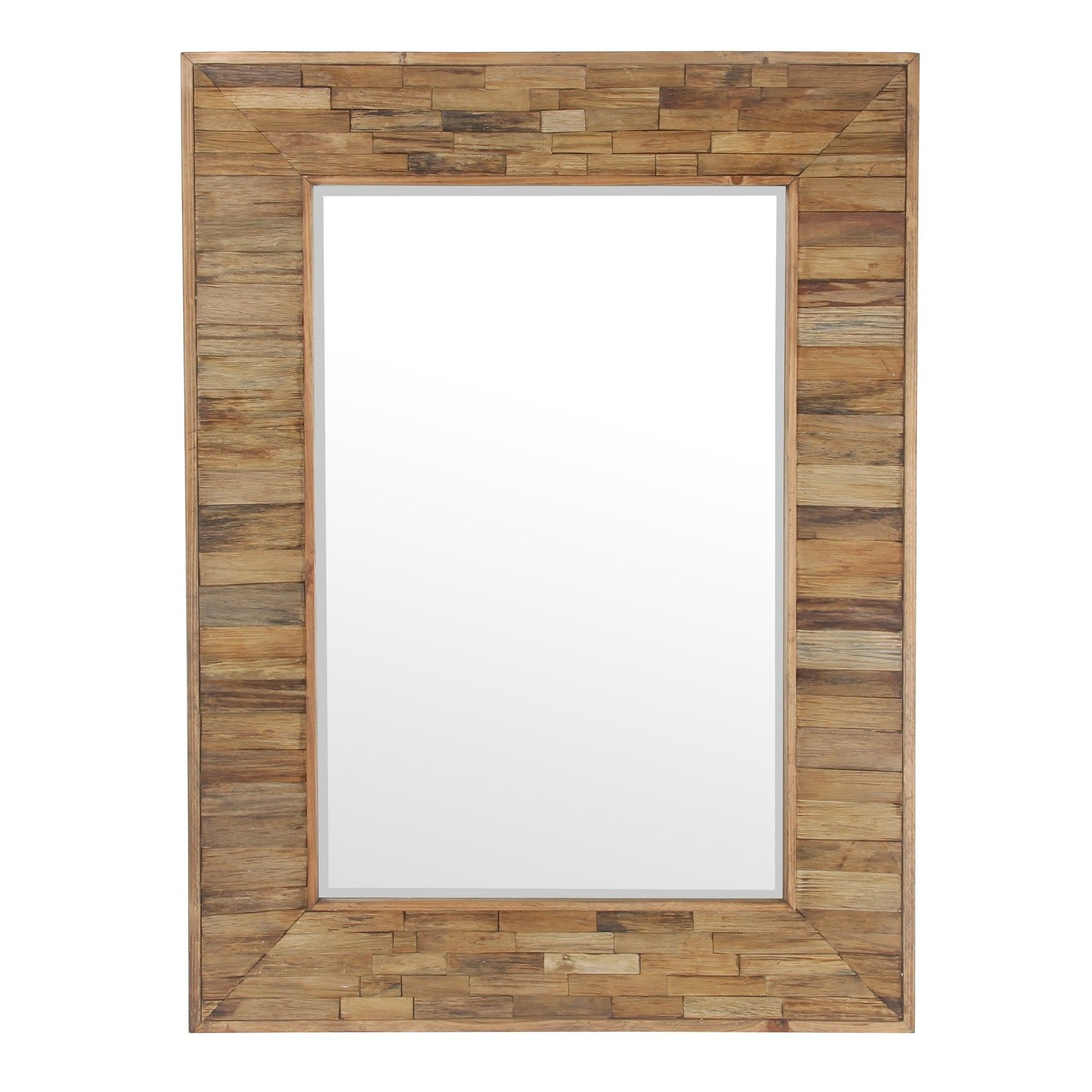 Organic Wooden Mirror