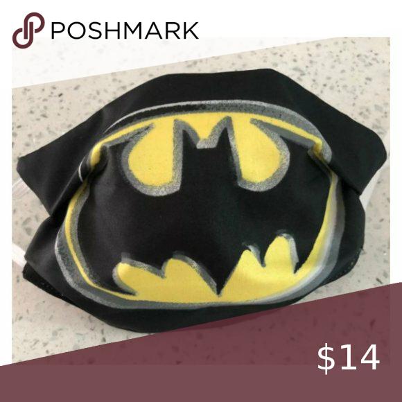 Child Face Mask Batman Symbol Batman Symbol Child Face Face Mask