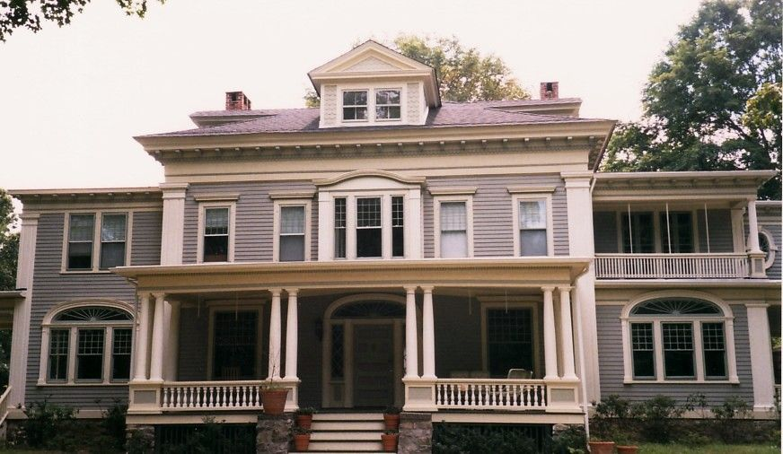Stanford White Colonial Revival by Historic House Colors ...