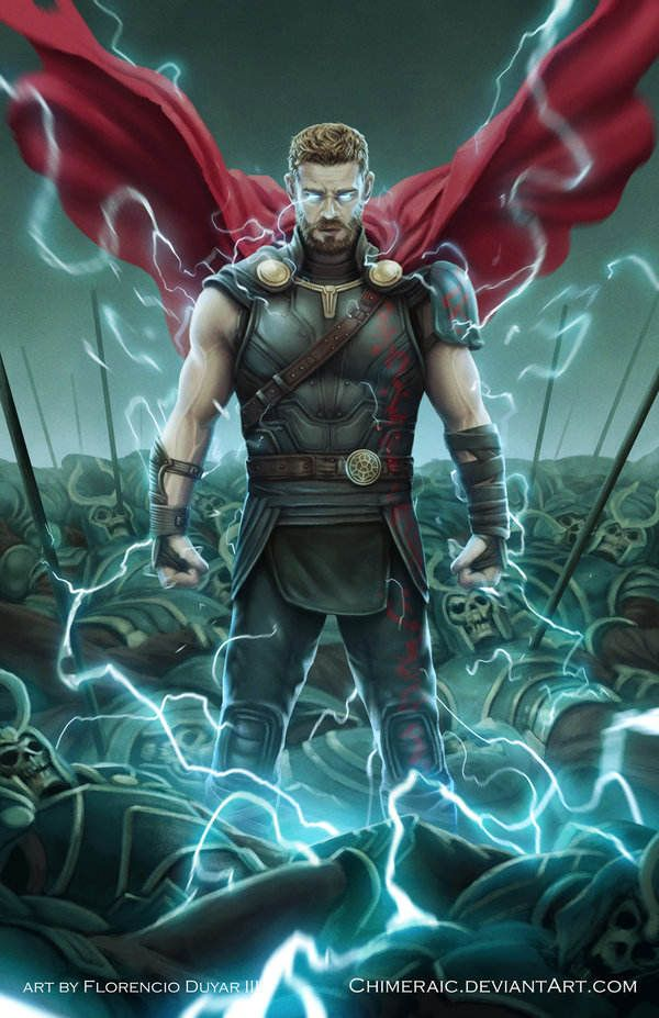 Awesome art we 39 ve found around the net thor ragnarok - Marvel android wallpaper hd ...