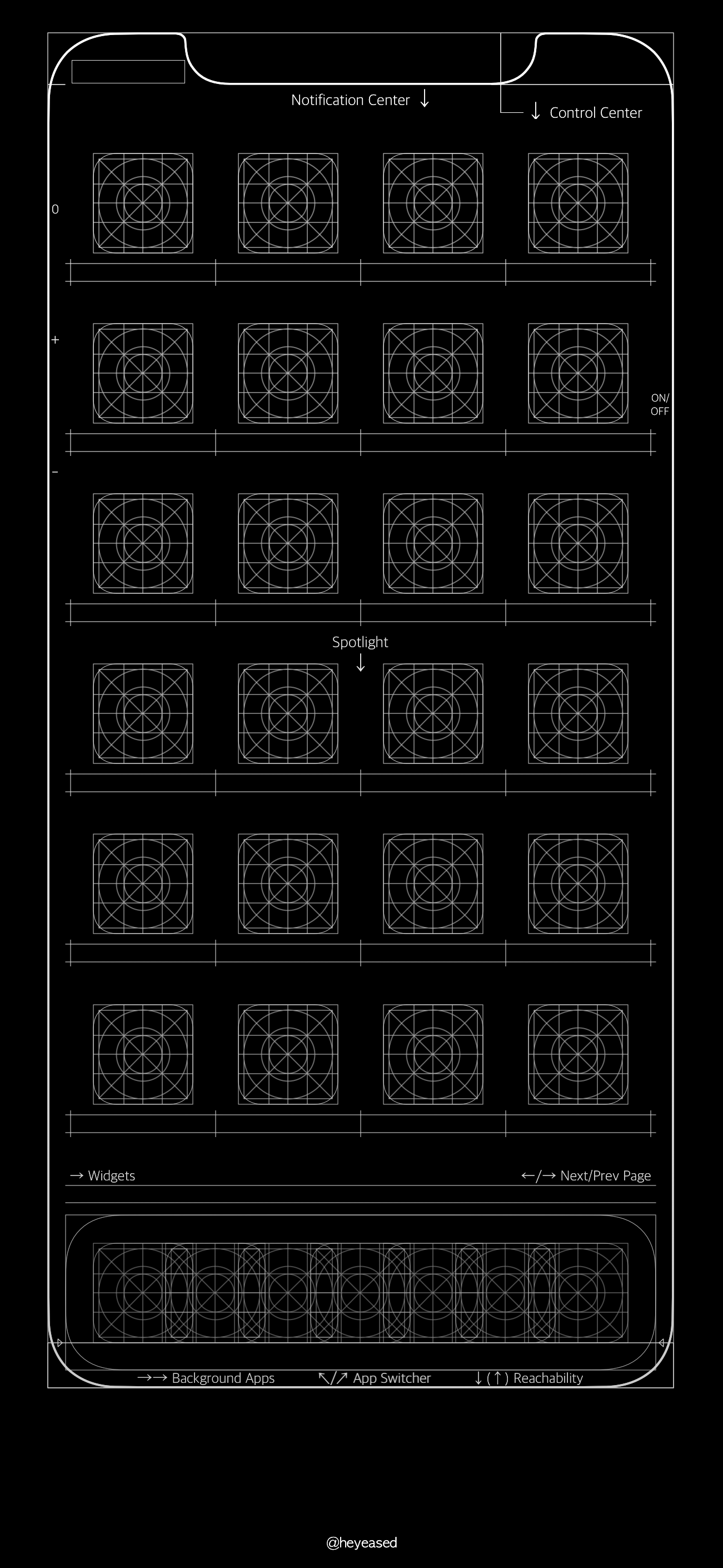 Grid And Blueprint Wallpapers For Iphone White Wallpaper For Iphone Iphone Homescreen Wallpaper Homescreen Iphone