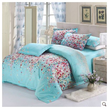 Bedding Set Purple Picture More Detailed Picture About Floral Theme 15 Beautiful Floral Duvet Covers Pink Purple Red Blue Grey Yellow Orange Flowers Reactive