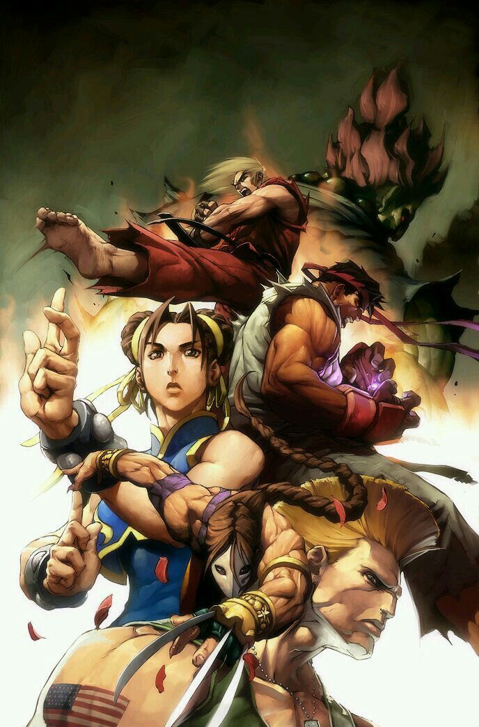Pin by Mike Manna on Wallpapers Street fighter art
