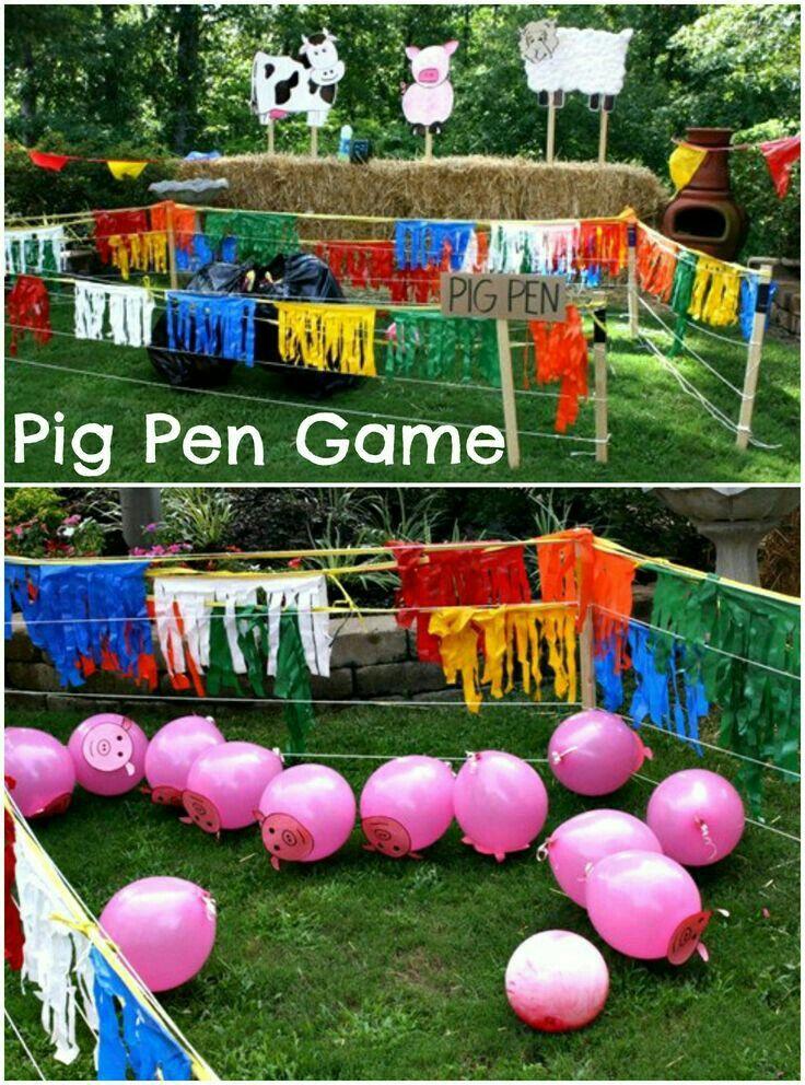 Animal Birthday Party Games