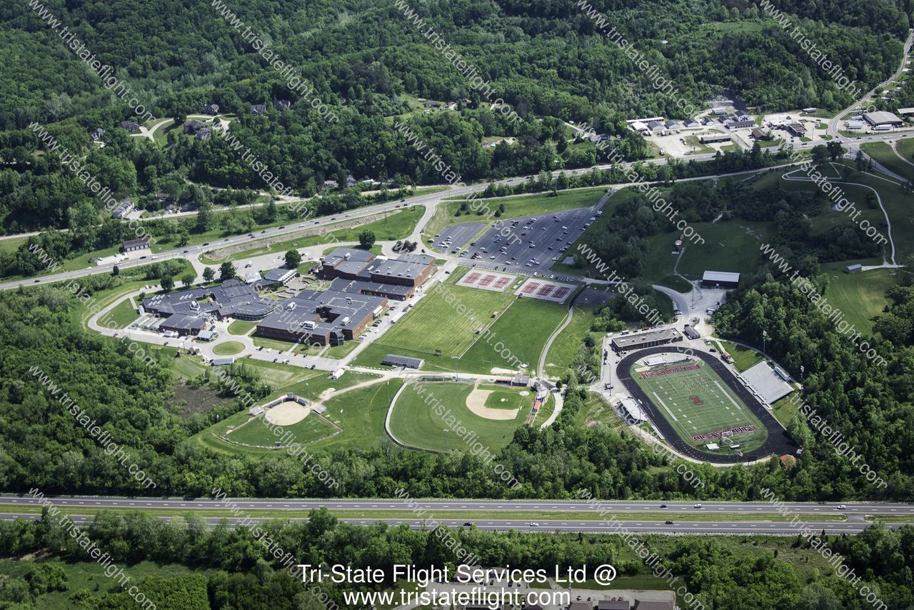 Cabell Midland High School | Aerial Photos Cabell Midland