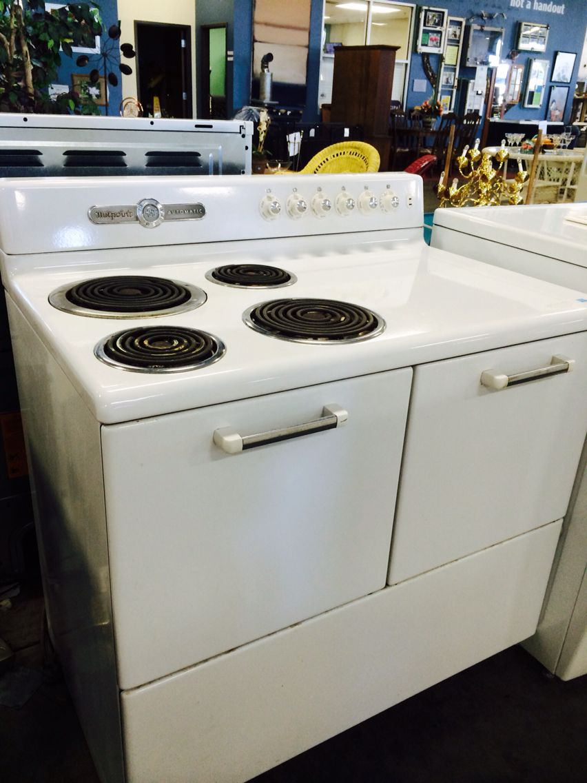 Vintage Hotpoint Range for sale at Habitat-Winston Salem $325 ...