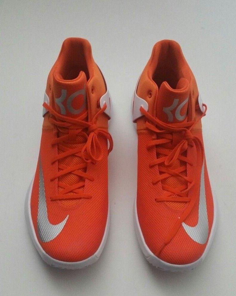 3f532764c0df Nike Men s 856484-883 Zoom KD Trey 5 IV Basketball Shoes Orange White Size  15.5