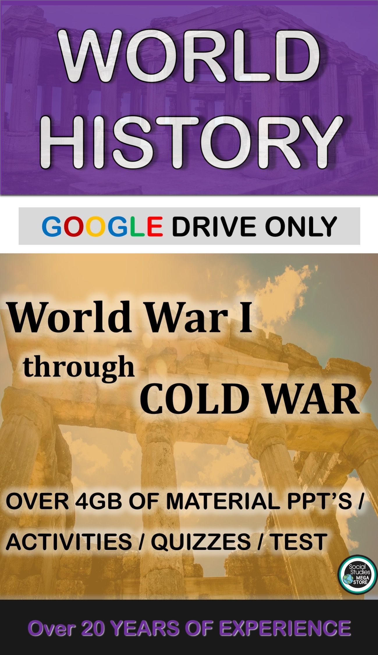 World History World War I To Cold War Second Semester