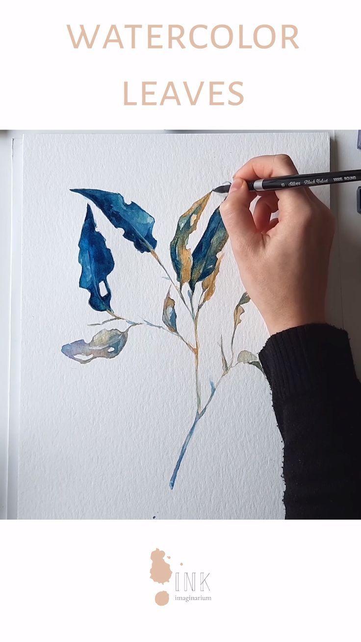 #paingting #botanical#painting#watercolor#process#video#drawings#enjoy#videos#created#visual#artist#laura#manteca Botanical Painting - Watercolor process video