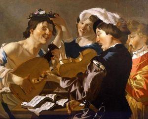 The Concert - Dirck van Baburen - The Athenaeum