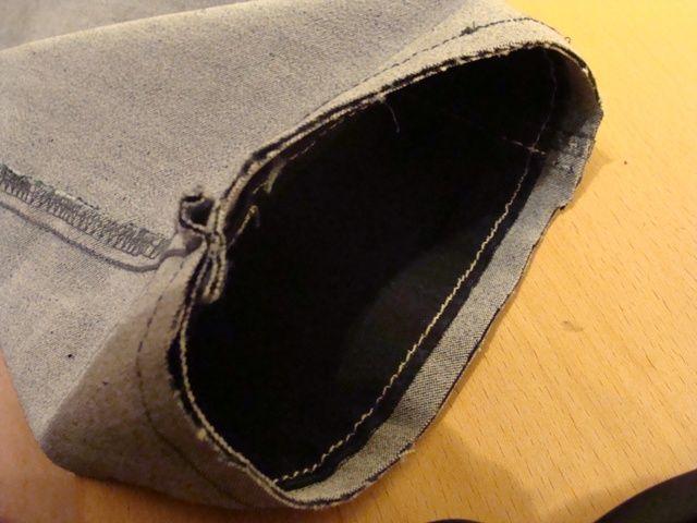de9082a68f9 spijkerbroek inkorten en de originele rand behouden | Maak iets ...
