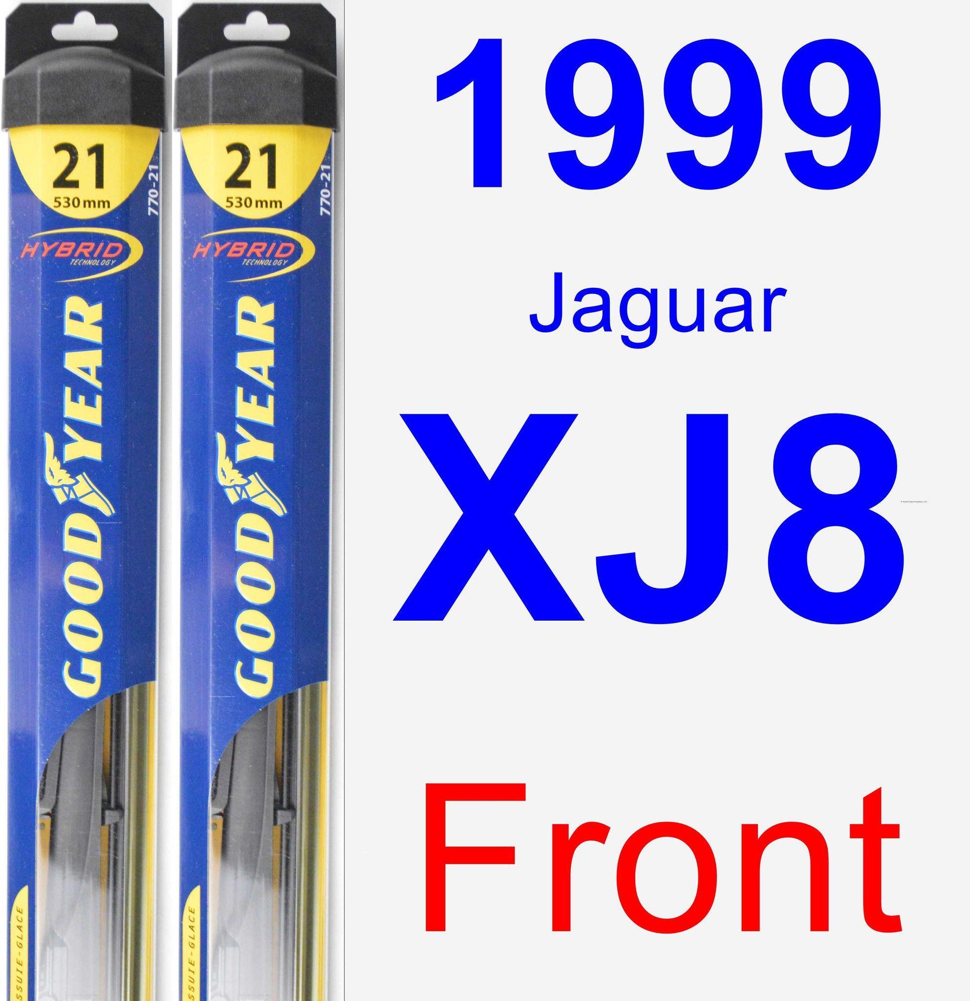 Front Wiper Blade Pack For 1999 Jaguar XJ8