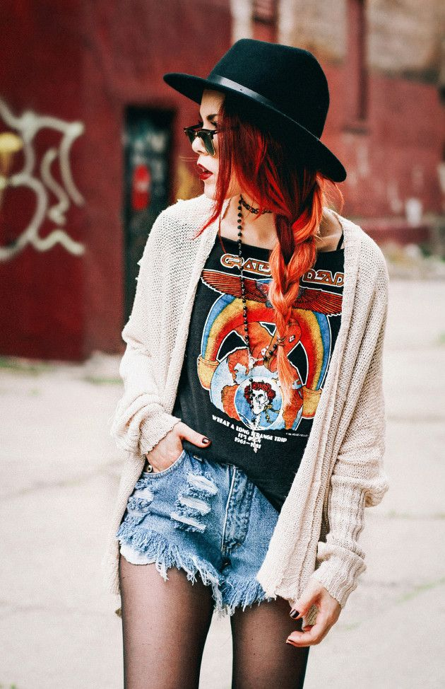 vintage tee outfit