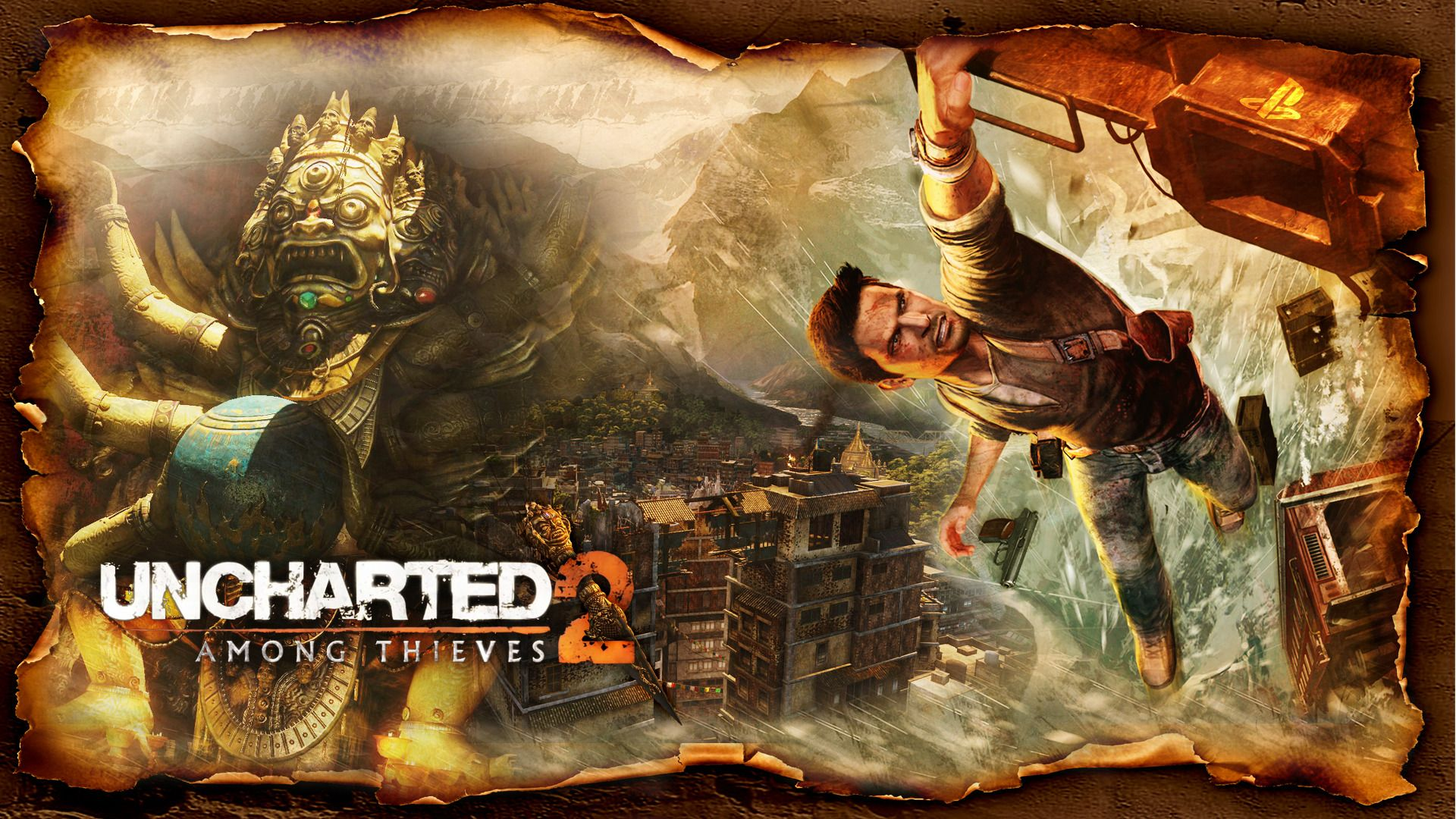 Uncharted 2 Among Thieves Wallpaper Con Immagini Giochi