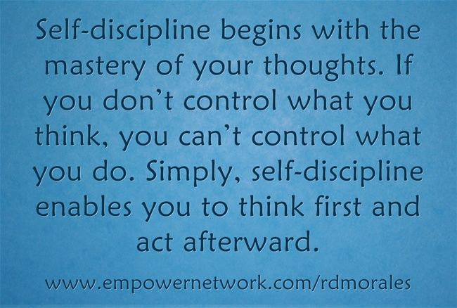 This Is A Great Quote From Napoleon Hill From Think And Grow Rich Discipline Quotes Great Quotes Quotes