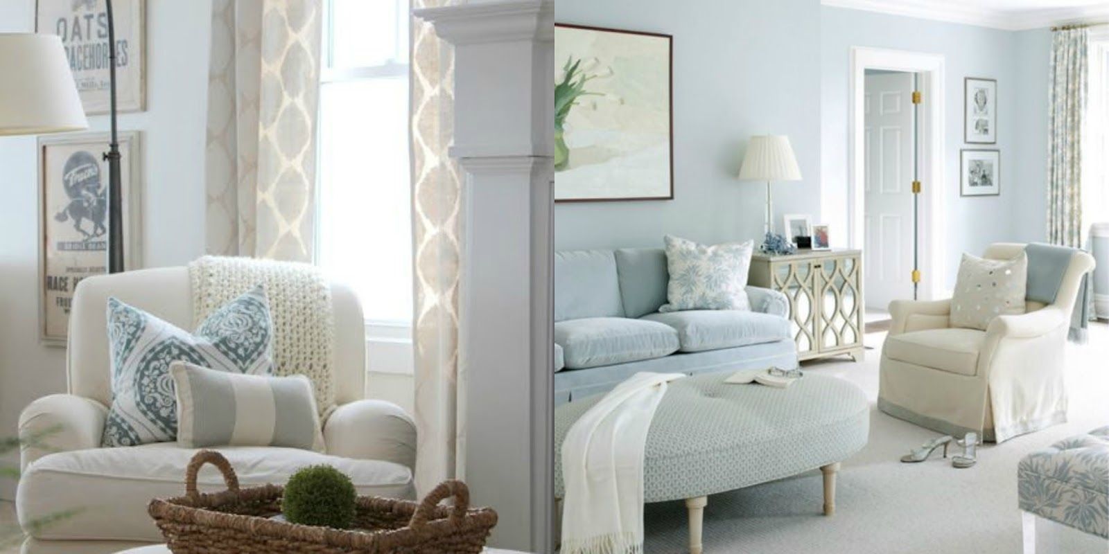 Pin by Rachel Song on living room | Blue bedroom decor ...