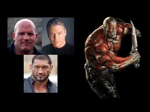 Comparing The Voices - Drax The Destroyer