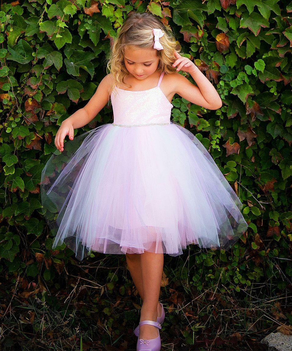 Another great find on #zulily! Light Pink Tank Dress - Toddler & Girls by Little Mass #zulilyfinds