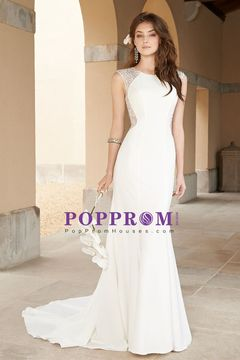 2016 Wedding Apparel Mermaid/Trumpet Scoop Sleeveless Zipper Up Back With Rhinestone US$ 169.99 PPHPD3QYZK4 - PopPromHouses.com