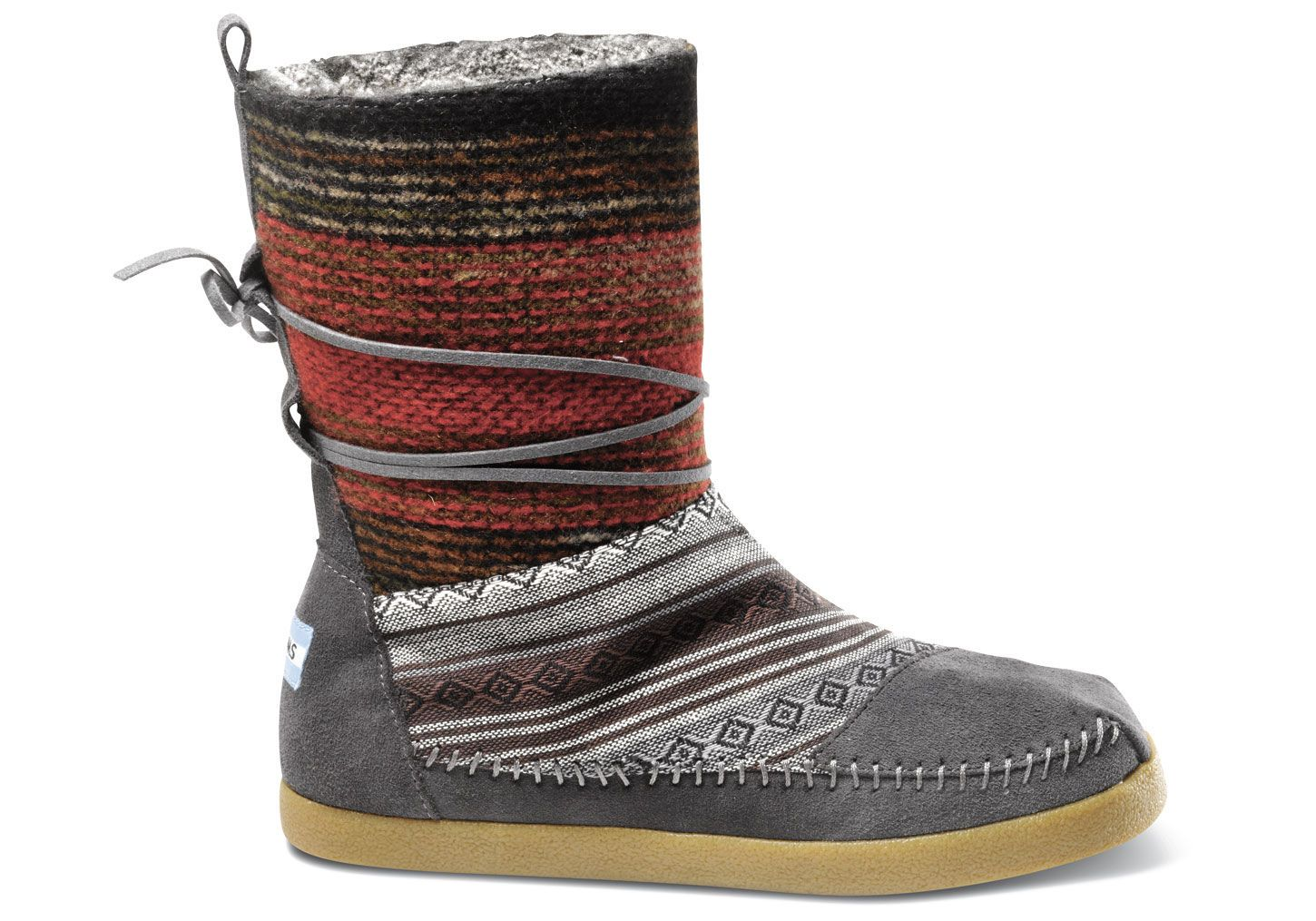 5526b080f37 My love for boots - TOMS - Mixed Woven Women s Nepal Boots