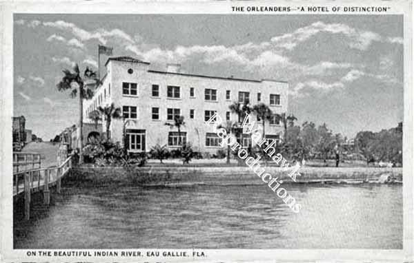 the was the oleander hotel that sat on the end of the eau. Black Bedroom Furniture Sets. Home Design Ideas