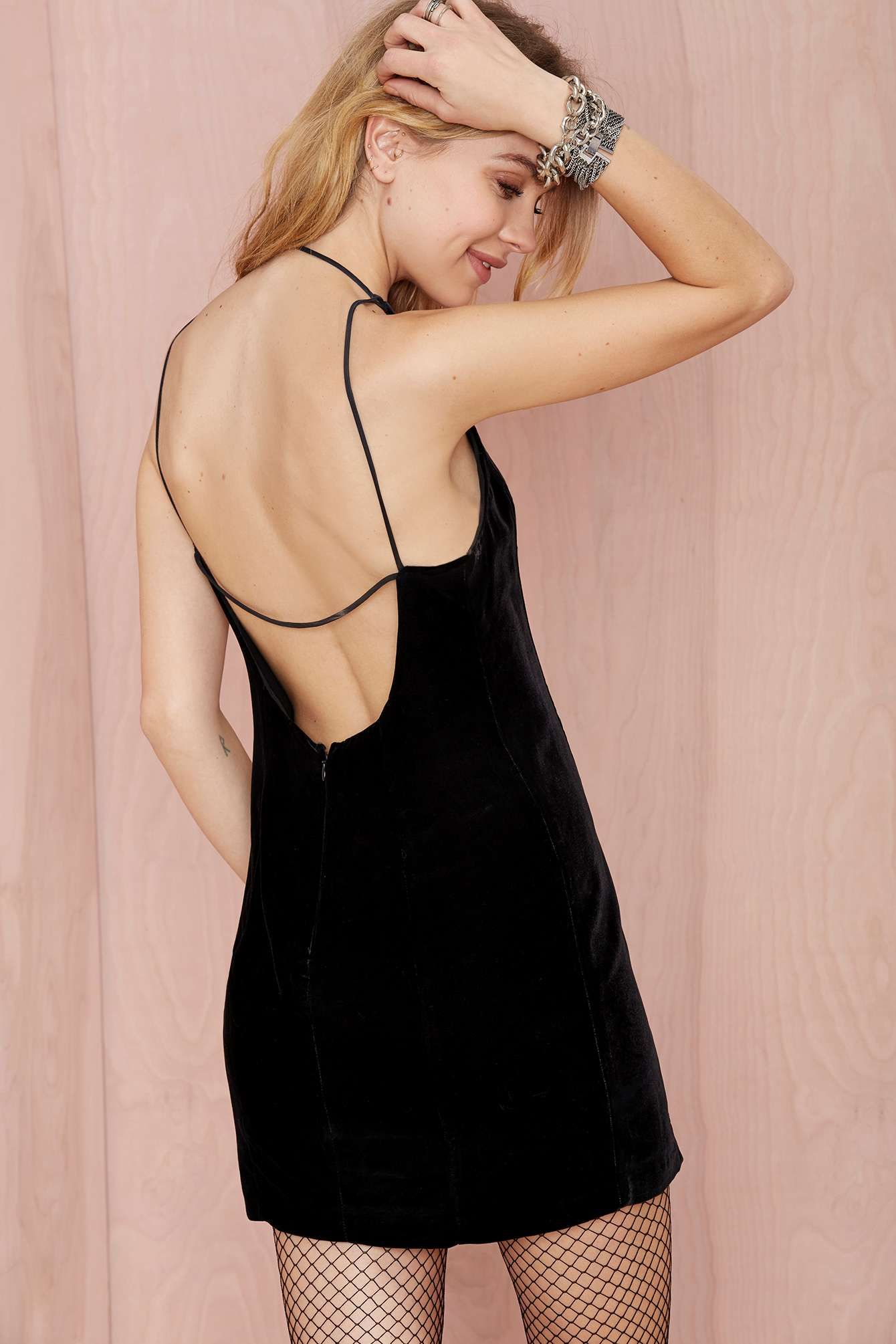 Nasty Gal Velvet Underground Dress at Nasty Gal