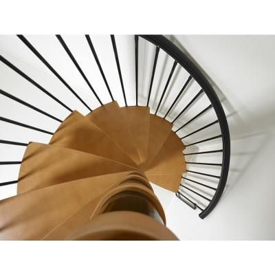Best Arke Nice1 51 In Black Spiral Staircase Kit Spiral 400 x 300