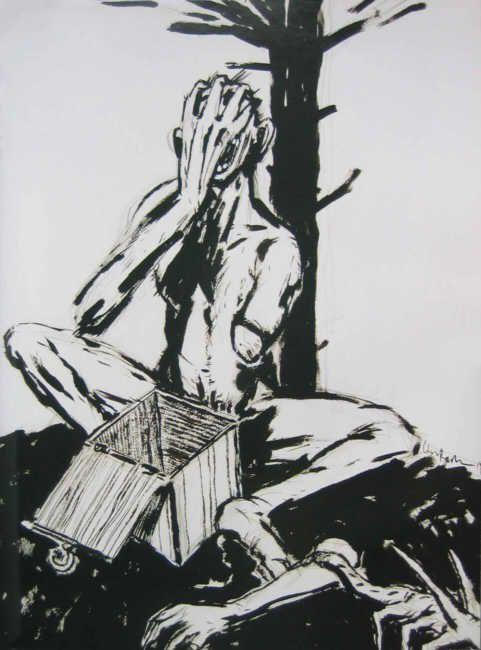 Clive Barker art always speaks to me   just cool   Horror
