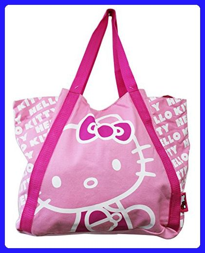 68ca8559c6 Hello Kitty Light Pink Colored Medium Size Canvas Tote Bag - Totes ( Amazon  Partner-Link)