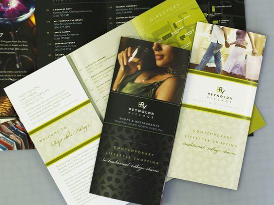Beautiful Brochure Design Samples  Brochures Behance And