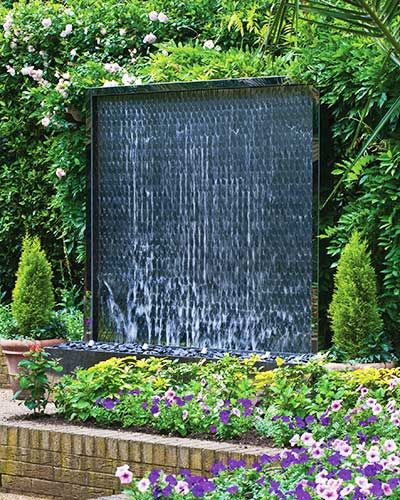Design Ideas Remodel Pictures Amazing of Garden Wall Water Features ...