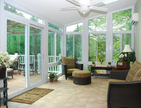 4 Season Sunroom Dining Room