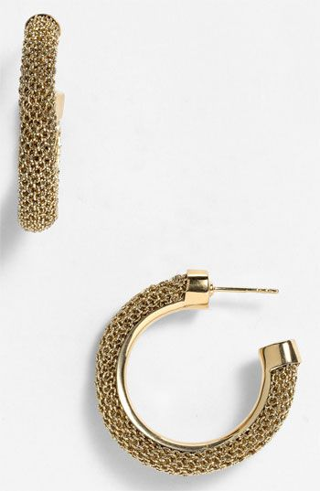 042170ede3e Adami & Martucci 'Mesh' Small Hoop Earrings | Nordstrom | Now at ...