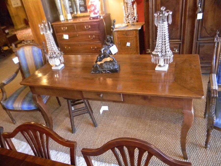 TAB 007 Provencial Farm Table | Plantation Antique Galleries U2014 604 Bel Air  Blvd.