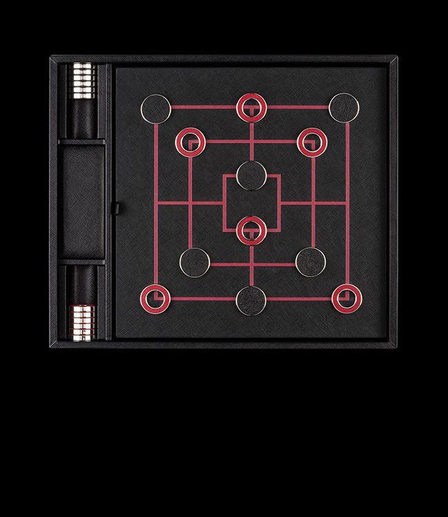 Prada checkers board