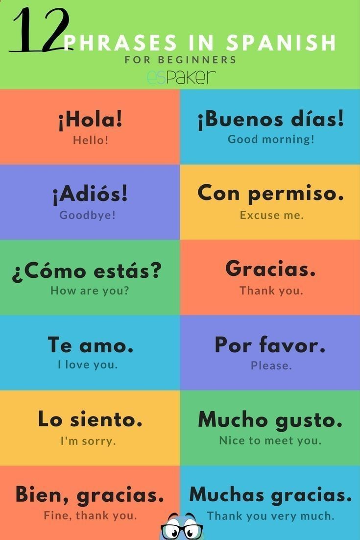 Spanish Greetings And Most Popular Phrases If You Want To Have