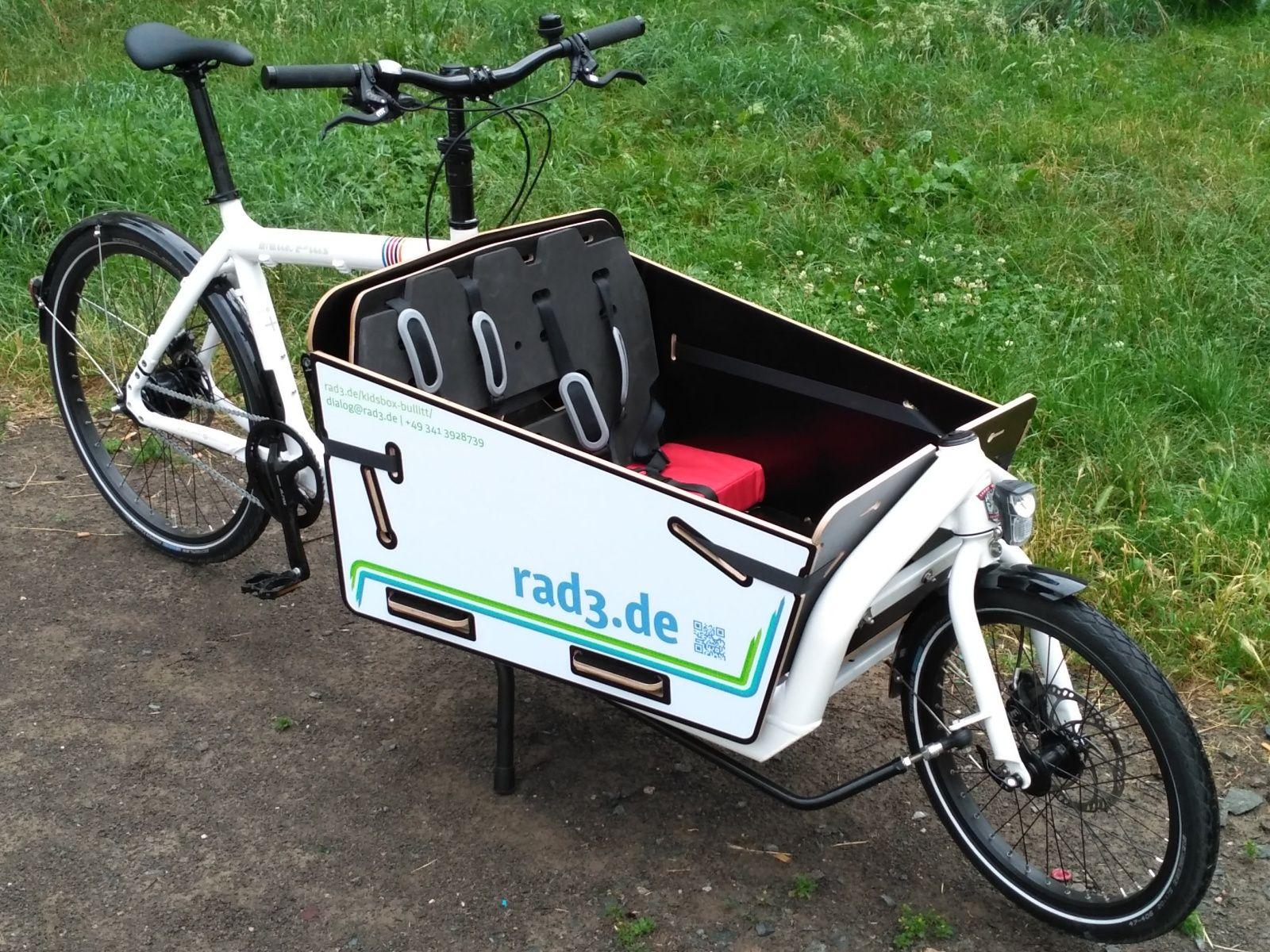 Rad3 Kids Box Fur Bullitt Lastenfahrrad Rad Fahrrad