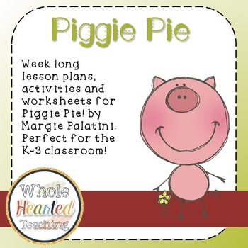 Piggie pie by margie palatini book study piggie pies sequencing piggie piethese lesson plans and worksheets are made to be a supplement to the book piggie pie by margie palatini this study is great for elementary fandeluxe Image collections