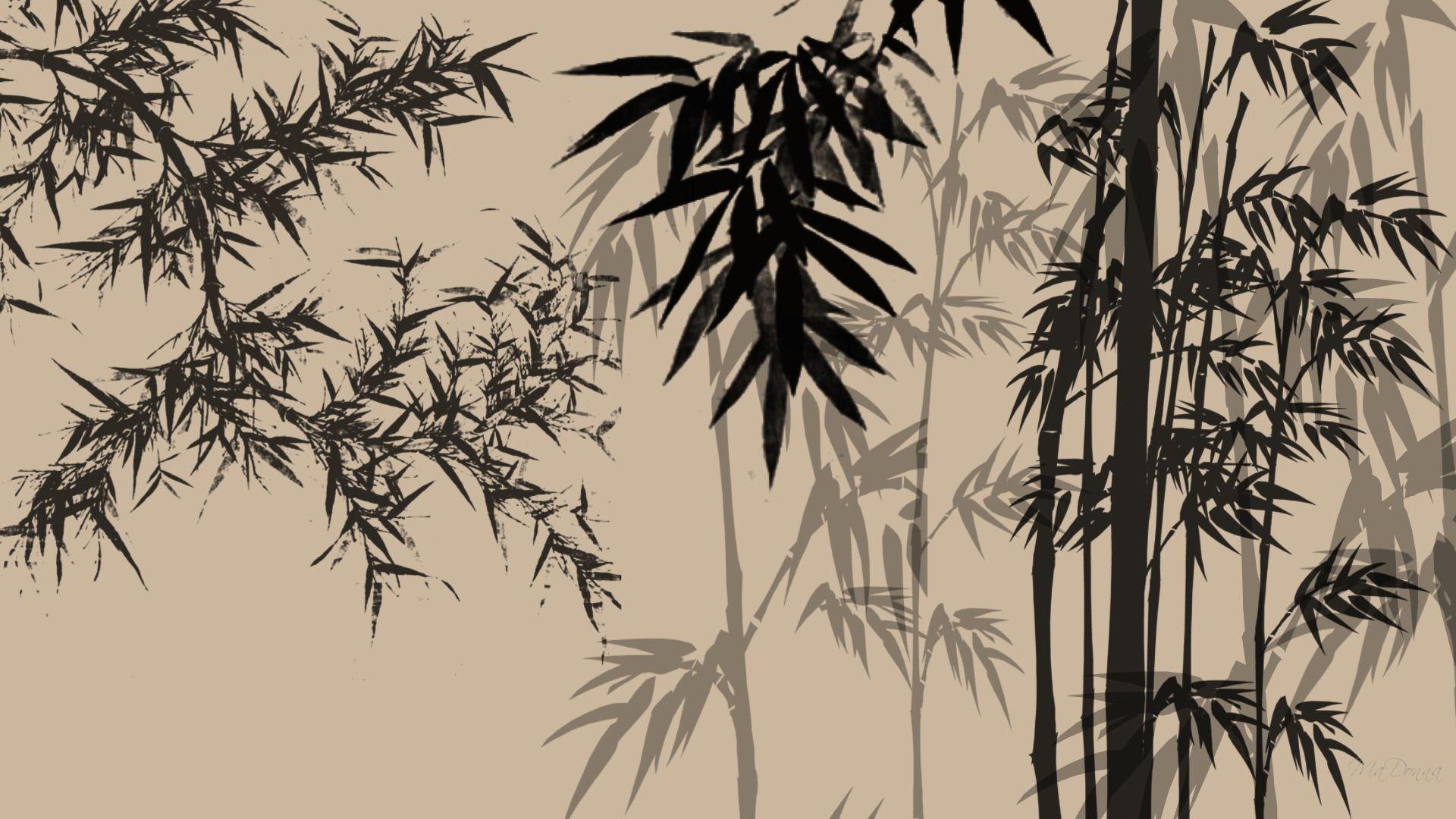 Bamboo Shadows Abstract Bamboo Chinese Firefox Persona Bamboo