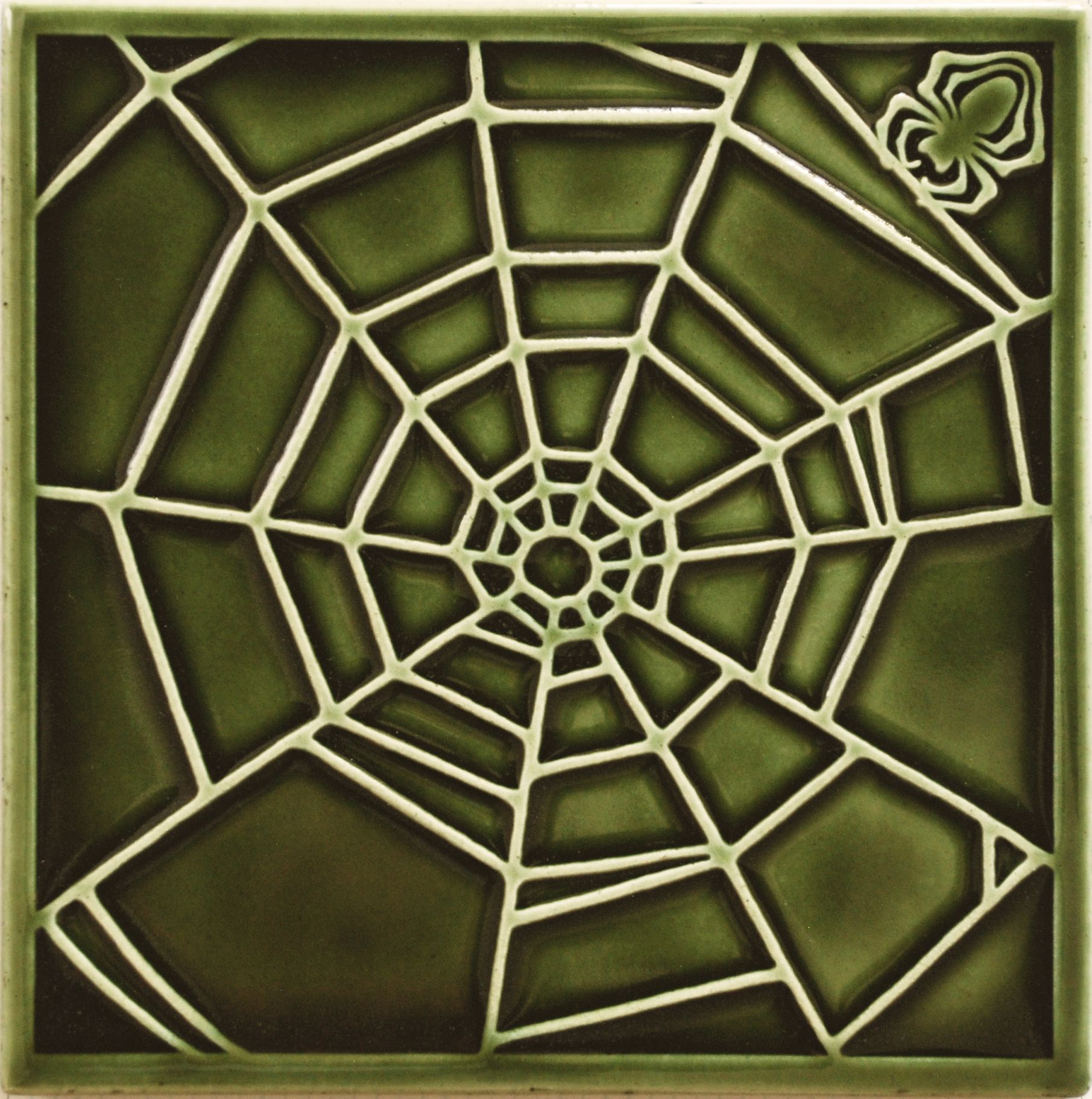 Arts and crafts tile by carreaux du nord tile the spider
