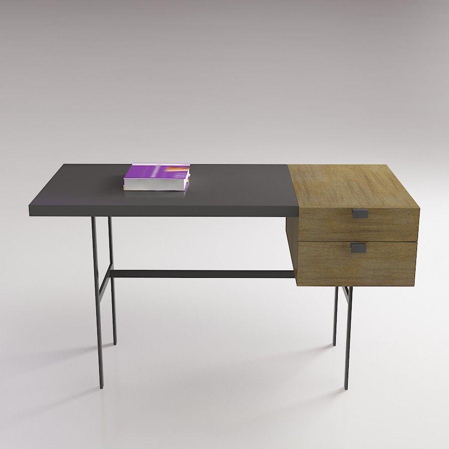 Ligne Roset Tanis Table - 3D furniture model - Use PROMO CODE: pin3d ...