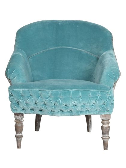 Two-Tone Smooth Armchair by nuLOOM at Gilt