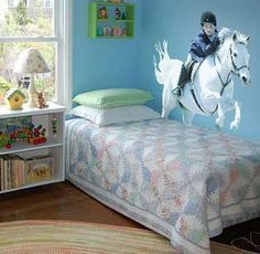 Horse Themed Girls Bedroom | 26 Equestrian Themed Bedrooms For Horse Crazy  Girls Of All Ages